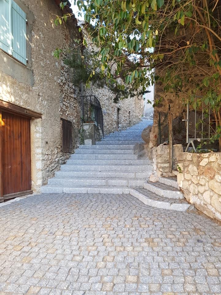 bordure droite da costa pavage escalier exterieur