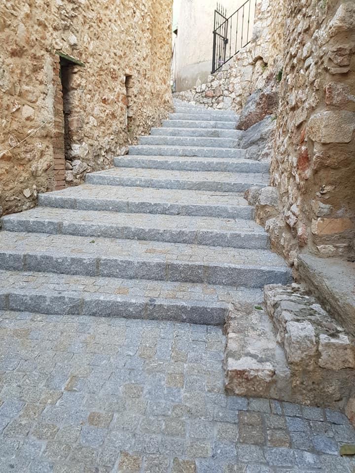bordure droite da costa pavage escalier exterieur ville