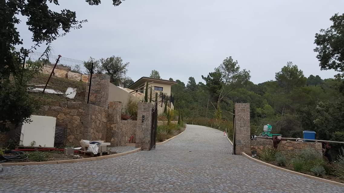 dacosta pavage paves granit pose droit joints droit mixte draguignan paca portail